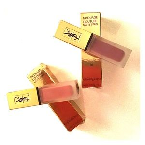 Yves Saint Laurent Toutage Couture Matte Stain duo